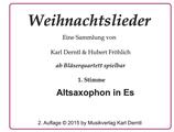 1. Stimme: ALTSAXOPHON (in Es)  WL