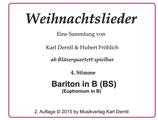 4. Stimme: BARITON in Bb / EUPHONIUM in Bb  (WL)