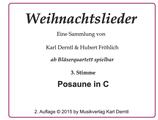 3. Stimme: POSAUNE in C (Bass-schlüssel)  WL