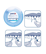 #1760 paro® brush'n floss – 12 blister à 1 pcs, 20x15 cm
