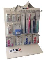 #8667 paro® Display – Acryl mit Haken,  1 Stk.