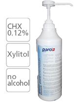 #2693 paro® chlorhexidin – Mundspülung 0.12 % CHX, mit Dispenserpumpe,  1 Flasche à 2 l