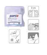 #1764 paro® riser-floss – gewachst, mint, fluoridiert, 12 Dosen à 1 Stk., 50 m
