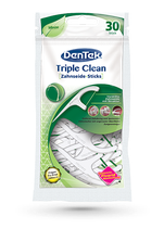 #1641 DenTek® Triple Clean – Zahnseide-Sticks, 6 Packungen à 30 Stk.