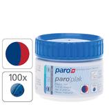 #1209 paro® plak – 2-Farben-Tabletten, rot/ blau,  1 Dose à 100 Stk.