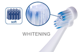 #730 paro® deep-clean-whitening – Ersatzbürsten für paro® sonic Art. 727, 1 Blister à 2 Stk.