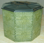 Thermokomposter JUMBO, achteckig