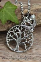 Lebensbaum mit Schwalbe und Miracle-Perle