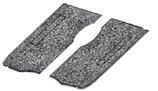 set de 2 tapis caoutchouc gauche et droit sous banquette avant 68->79