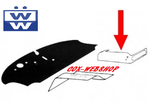 set de 2 tapis caoutchouc enveloppant la surélévation des sièges avant gauche et droit 68->79