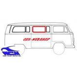 joint de vitre latérale centrale ou arrière gauche ou droite 68-> (avec déflecteur)