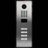 DoorBird D2104V IP Video Türstation inkl. Unterputzgehäuse, 4 Ruftasten