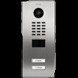 DoorBird D2102V IP Video Türstation inkl. Unterputzgehäuse, 2 Ruftasten