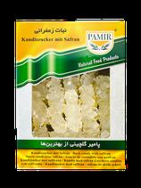 Kandiszucker mit Safaran نبات زعفرانی