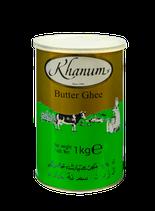 Khanum Butter Ghee 1 Kg geklärte Butter 99.8 % Butter schmalz