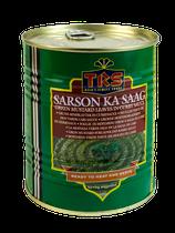 Grüne Senfblätter in Currysauce 850 gr.