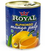 Royal Alphonso Mango Pulp 850gr.