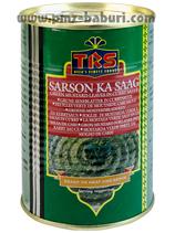 Grüne Senfblätter in Currysauce 450 gr.