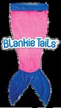 "Blankie Tails Kids Schlafsack /couverture douillette kid ""Pink"""