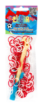 Rainbow Loom® Team-Set Schweiz, mit Plastiknadel / avec crochet en plastique