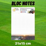 Bloc notes AgriCom