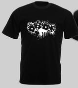 Würfel Shirt SCHWARZ