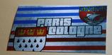 150 Köln-Paris Aufkleber