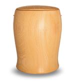 Holzurne Erle Tulpenform Holz Urne