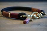 Tau Halsband schwarz - 43cm