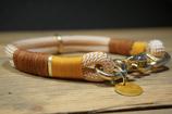 Tau Halsband gelb - 39cm