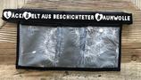 3er LäckiBelt aus beschichteter Baumwolle ``Pusteblume grau``