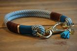 Tau Halsband blau - 47cm
