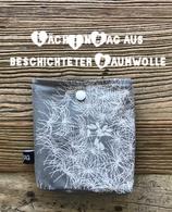 LäckInbag aus beschichteter Baumwolle ``Pusteblume grau``