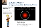 Ergonomia 4.0: dalla fabbrica al robot