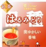 【はるみどり 紅茶 要】