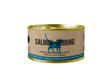 Salmon with Hering & Trout