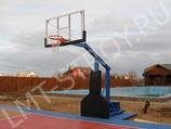 Стойка баскетбольная профессиональная мобильная складная в комплекте