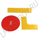 Разметка корта 7/6 Tennis Line - Yellow
