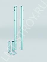 Столбы для теннисной сетки, алюминиевые