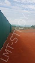 Против ветровой теннисный фон производство ЛМТ-строй 2х12