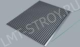 Разметалка для корта одиночная алюминиевая