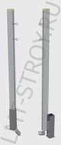 Столбы для бадминтона квадратные