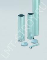 Стакан для столбов 76 мм, зеленый (1 шт)