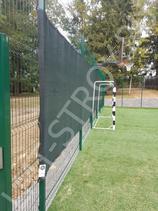 Против ветровой теннисный фон производство ЛМТ-строй 3х16