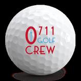 """0711 GOLF CREW Logo-Ball """"Pro"""" von VICE GOLF"""