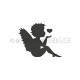 """Stanzschablone """"Engel mit Herz"""" - Alexandra Renke"""