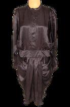 By MALENE BIRGER 100% zijde jurkje, jurk, snake/zwart-bruin, Mt. 36