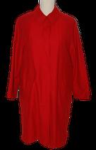 NIEUWE Claudia Sträter mantel, rood, Mt. 38