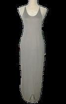 DYANNE ragfijn jurkje, jurk, grijs/groen, Mt. S