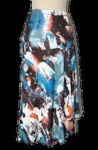 CHIARICO rok, blauw multicolor, Mt. XXL